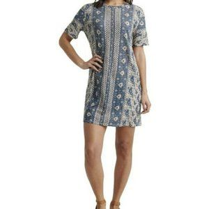 Lucky Brand T-Shirt Dress Floral Women S